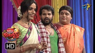 Hyper Aadi, Raising Raju Performance | Jabardasth | 5th April 2018   | ETV  Telugu
