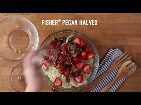 Shaved Fennel, Arugula & Pecan Salad