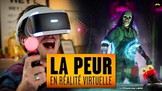 La peur en réalité virtuelle