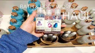 Bath & Body Works HAUL | Crystal Inspired Fragrances
