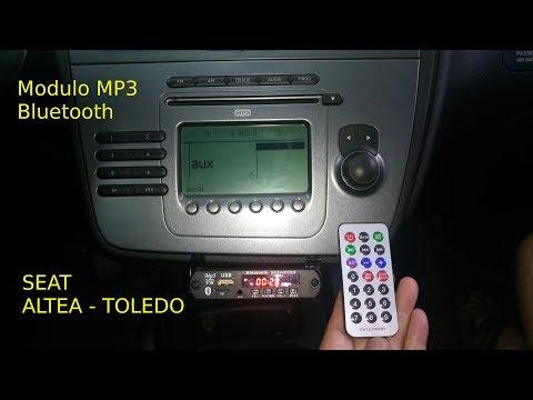 Instalar modulo de audio MP3 Bluetooth super barato en la radio original de seat toledo altea