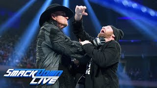 After interrupting The Undertaker, Sami Zayn receives a hell-shattering Chokeslam from The Deadman.  #SDLive  GET YOUR 1st MONTH of WWE NETWORK for FREE: http://wwe.yt/wwenetwork --------------------------------------------------------------------- Follow WWE on YouTube for more exciting action! --------------------------------------------------------------------- Subscribe to WWE on YouTube: http://wwe.yt/ Check out WWE.com for news and updates: http://goo.gl/akf0J4 Find the latest Superstar gear at WWEShop: http://shop.wwe.com --------------------------------------------- Check out our other channels! --------------------------------------------- The Bella Twins: https://www.youtube.com/thebellatwins UpUpDownDown: https://www.youtube.com/upupdowndown WWEMusic: https://www.youtube.com/wwemusic Total Divas: https://www.youtube.com/wwetotaldivas ------------------------------------ WWE on Social Media ------------------------------------ Twitter: https://twitter.com/wwe Facebook: https://www.facebook.com/wwe Instagram: https://www.instagram.com/wwe/ Reddit: https://www.reddit.com/user/RealWWE Giphy: https://giphy.com/wwe
