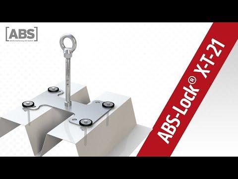 Présentation vidéo compacte concernant le point d'ancrage ABS-Lock X-T-21