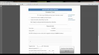 How to Fill in PDF Forms