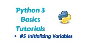 Programming in Python 3 -  Initializing Variables