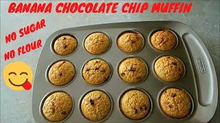 best banana chocolate chip muffins no egg