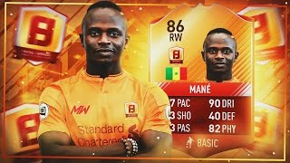 MOTM MANE THE DEBUT HERO! MAN OF THE MATCH F8TAL - FIFA 17 ULTIMATE TEAM