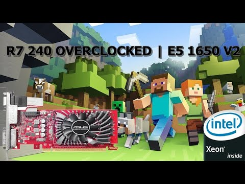 MİNECRAFT | E5 1650 V2 | R7 240 OVERLOCKED