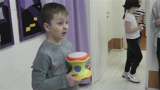 The leopard drum. I can read and speak. Рождественский фестиваль. Декабрь 2018.