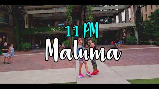 MALUMA   11 PM BY JAMES DIAZ  ZUMBA FITNESS