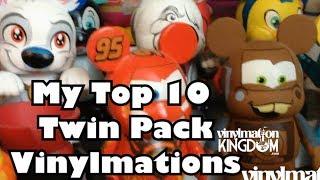 My Top 10 Vinylmation Twin Packs  - VK Diaries