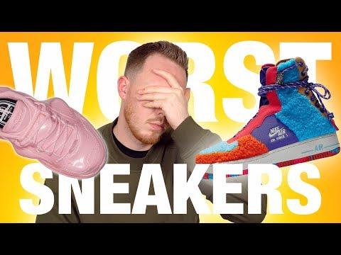 Top 10 WORST Sneakers of 2019