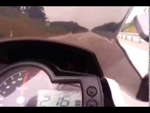 Benelli TNT 600 Top Speed -- 230km/j