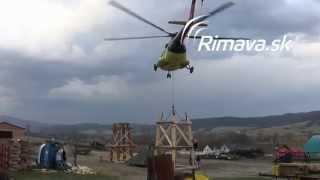 preview picture of video 'Výstavba rozhľadne Maginhrad - Rimavská Sobota'