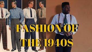Fashion Of The 1940s   Mens Fashion