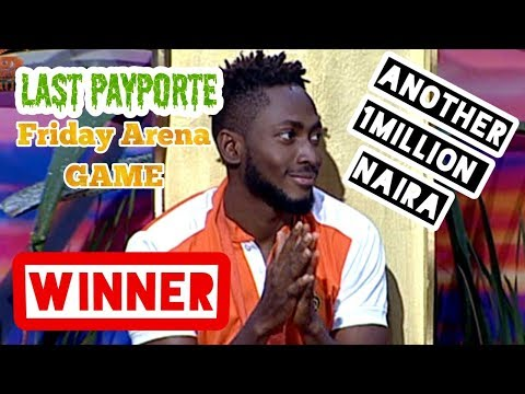 MIRACLE WON THE FINAL PAYPORTE FRIDAY ARENA GAME ||#BBNAIJA DAY 82