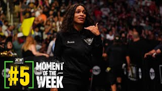 What Happened When Rosario Dawson Came Face to Face with Malakai Black? | AEW Dynamite, 9/15/21