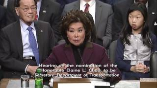 Sen. Dan Sullivan (R-AK) at a Senate Commerce, Science & Transportation Hearing - January 11, 2017