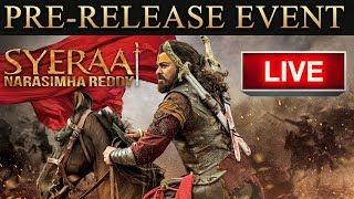 Sye Raa Narasimha Reddy Pre Release Event LIVE | Chiranjeevi, Ram Charan