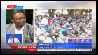 Jukwaa la KTN: Suala Nyeti - Seneta wa Embu Lenny Kivuti - [Sehemu ya Kwanza]