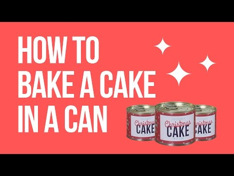 How To Bake A Southerly Christmas Cake In A Can