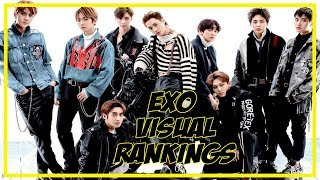 EXO VISUAL RANKINGS 2019