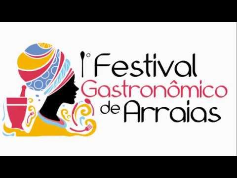 1° FESTIVAL GASTRONÔMICO EM ARRAIAS
