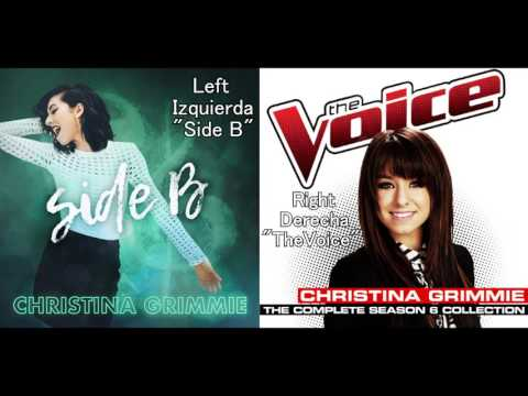 Christina Grimmie - I Won't Give Up (Side B vs The Voice)
