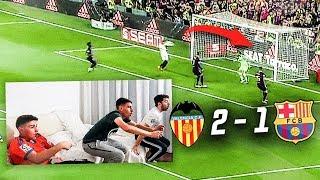 HINCHA Del REAL MADRID REACCIONA A La FINAL COPA DEL REY *BARCELONA 1 - 2 VALENCIA*