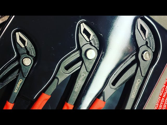 Youtube Video for 3 Pc Water Pump Pliers Set by Midwest Tool Review
