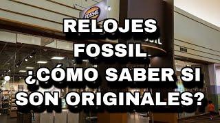 Relojes Fossil | Son Originales ? | ¿cómo Los Idéntico?