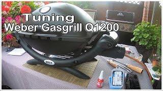 Tuning Weber Gasgrill Q 1200 Pimp my Weber mehr Power für den Weber