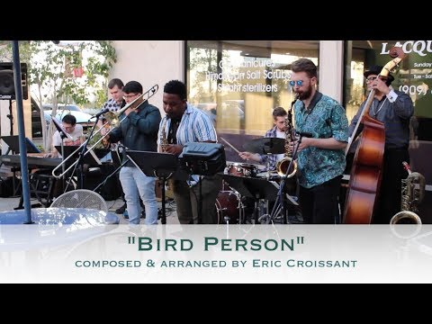 """Bird Person"" is an original composition by Eric Croissant written for one of the groups he performs with, ""JB & the Showmance Band."""