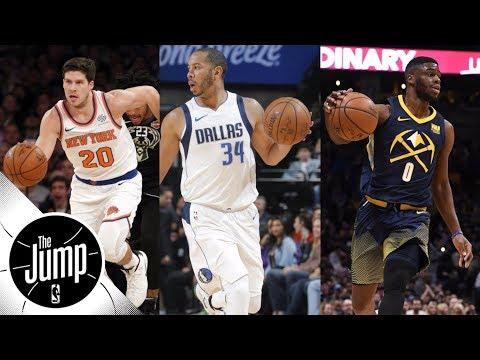Knicks, Mavericks, Nuggets in 3-way trade with McDermott, Devin Harris, Mudiay | The Jump | ESPN