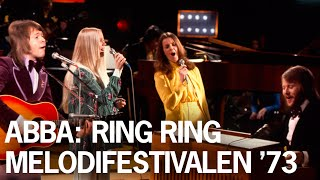ABBA: Ring Ring - Live at Melodifestivalen 1973 #Eurovision #Rare #Unreleased