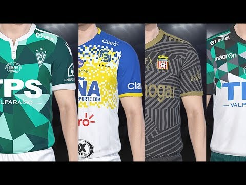 PES 2018 - Argentine League Teams Kits And Ratings