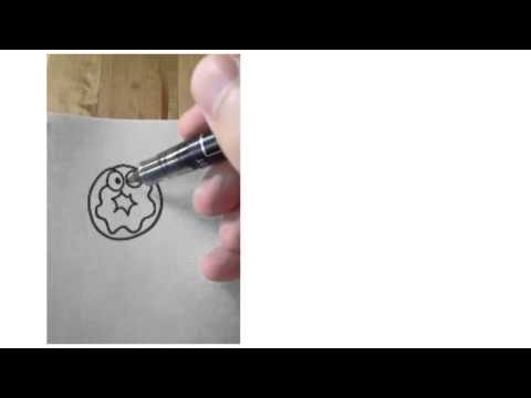 How to draw a donut.