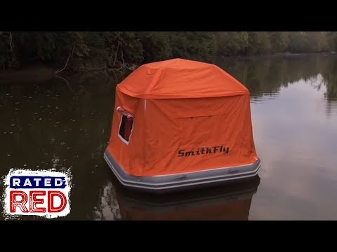 SmithFly Has Basically Invented a Waterbed for Outdoor Enthusiasts with this Floating Tent