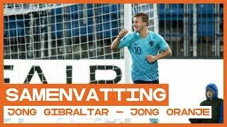 HIGHLIGHTS | De Wit en Gakpo op dreef voor Jong Oranje in Gibraltar