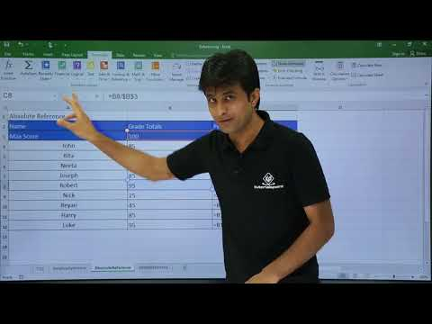 MS Excel - Cell Reference