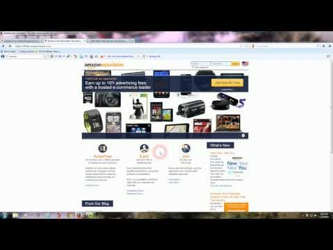 How To Make Money With The Amazon Affiliate Program I Beginners Amazon Affiliates Getting Started