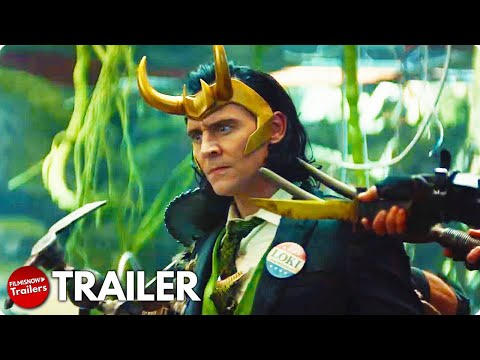 Loki Trailer Starring Tom Hiddleston