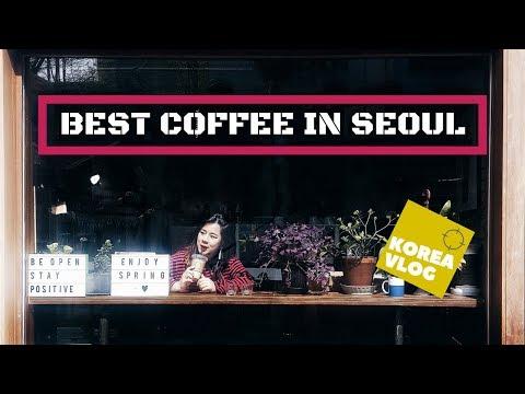 KOREA VLOG: Best Coffee in Seoul (Part2)