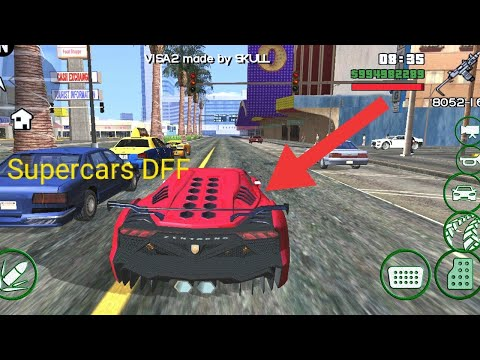 21 MB) Install Supercars in GTA San Andreas lite Android