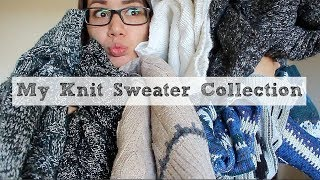 My Knit Sweater Collection!
