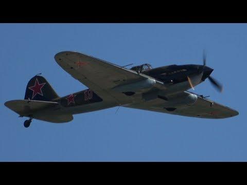 4Kᵁᴴᴰ / Ilyushin IL-2 Sturmovik - Rare Flight Display of the Soviet WWII Ground-Attack Aircraft