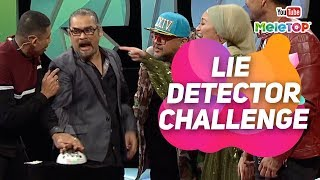Soalan panas ... kalau tipu kena kejutan elektrik   Lie Detector Challenge   4 Dato' I MeleTOP