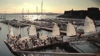preview picture of video 'A Coruña - Optimist Class World Championship Candidate City 2016'