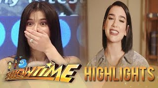 It's Showtime: Anne receives a surprise birthday greeting from Dua Lipa