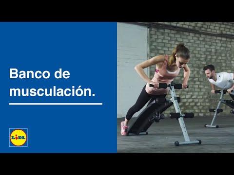 Banco de Musculación 🏋🏻♀️ 🏋🏼♀️ | Ponte en Forma | Lidl España